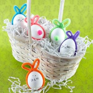 simple egg bunnies